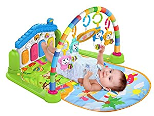 SURREAL (SM) 3 in 1 Baby Piano Play Gym PlayMat Music and Lights