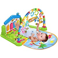 SURREAL (SM) 3 en 1 Baby Piano Play Gym Música de juego y Luces - Verde