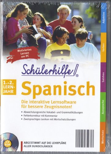 Preisvergleich Produktbild Schülerhilfe Spanisch 1.+ 2. Lernjahr - Abgestimmt auf die Lehrpläne aller Bundesländer