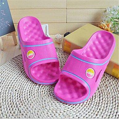 zhENfu Unisex pantofole & amp; flip-flops Primavera / Autunno pantofole in PVC / outdoor casual tacco piatto Altri Altri Ruby