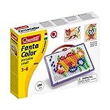Quercetti 0922 - Mosaik-Steckspiel FantaColor Portable Small