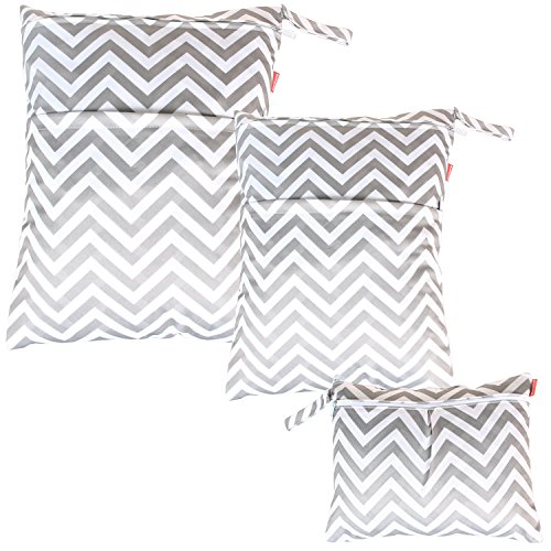 damero-3pcs-pack-wet-dry-bag-for-cloth-diapers-nappy-bag-daycare-organiser-bag-grey-chevron