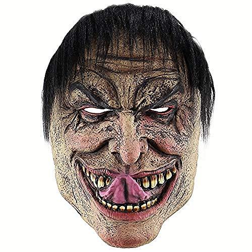 Männer Kostüm Beängstigend - acccc Halloween lustige elende Mann Maske beängstigend Cosplay Kostüm Adult Party Dekoration Requisiten Adult Größe