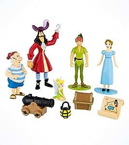 Disney Peter Pan Figurine Figure Set Amazon Co Uk