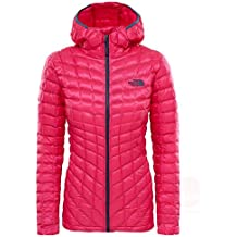 The North Face Thermoball Hoodie Chaqueta, Mujer, Petticoat Pink, XXL