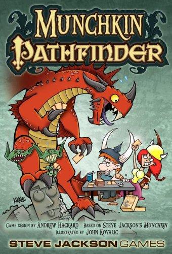 Steve Jackson Games - Munchkin Pathfinder, gioco di carte [importato da UK]