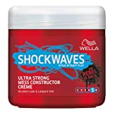 Wella Shockwaves Power Mess Constructor Ultra Strong, 3er Pack (3 x 150 ml)