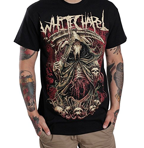 Whitechapel The King is Dead - T-Shirt-Large Whitechapel T-shirts