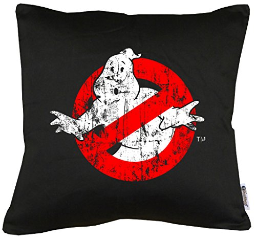 TLM Ghostbuster Distressed Kissen mit Füllung (Superhelden Top Frauen Ten)