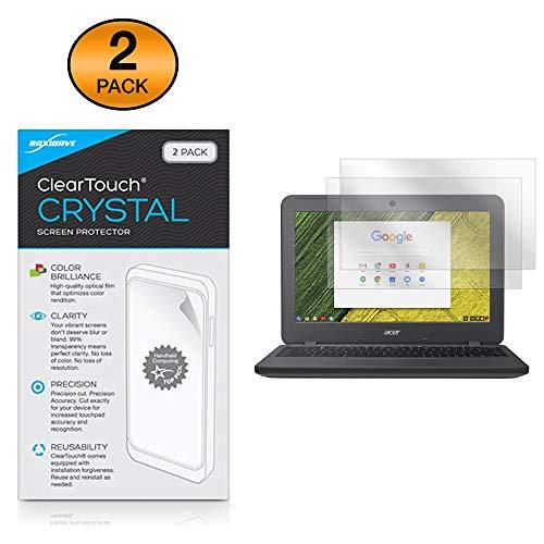 Acer Chromebook 11N7(C731) Displayschutzfolie, BoxWave [ClearTouch Crystal] HD Film Haut-Shields vor Kratzern für Acer Chromebook 11N7(C731) (Chromebook Acer Haut)