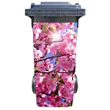 Mülltonnenaufkleber Motiv: Mandelblüte