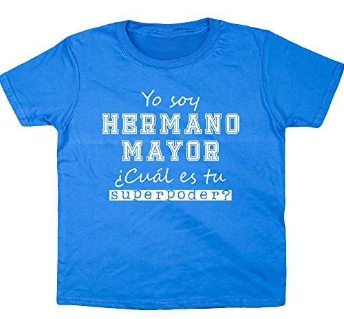 HippoWarehouse Yo Soy Hermano Mayor, ¿Cuál es tu Superpoder? camiseta manga corta niños niñas unisex