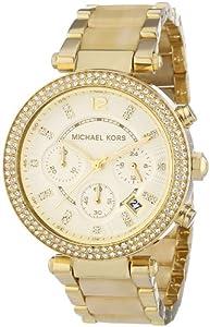 Michael Kors MK5632 - Reloj de cuarzo para mujer, correa de diversos materiales color dorado de Michael Kors