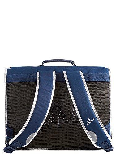 Prix IKKS Oh My Captain ! Cartable, 41 cm, Bleu