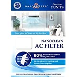 Nanoclean AC Filters | Make Your AC into Air Purifier | Pack of 1