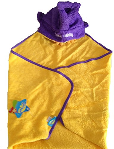 Bademantel Baby Dreieck Teletubbies THINKY whinky Teletubbis violett