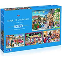 Gibsons Magic of Christmas Jigsaw Puzzle, 4x500 piece