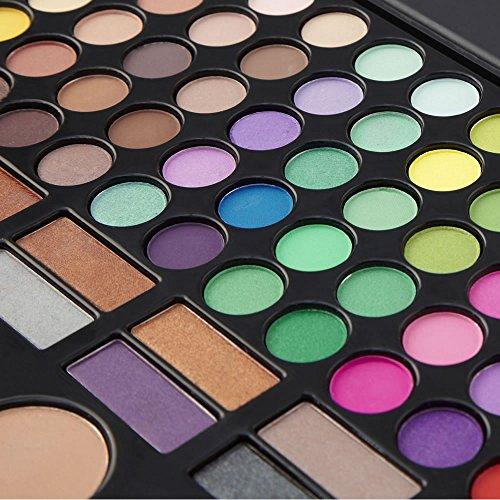 LaRoc 78 Colour Eyeshadow Eye Shadow Palette Makeup Kit Set Make Up Box with Mirror