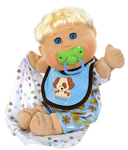 Cabbage Patch Kids 12.5 Naptime Babies - Blonde/Blue Eye Boy (Dog Jumper) by Cabbage Patch Kids