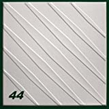 1 m2 Deckenplatten Styroporplatten Stuck Decke Dekor Platten 50x50cm, Nr.44