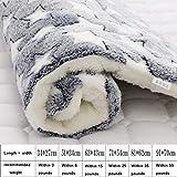 LRXHGOD Weiche Pet Mat Hundebett Winter Verdicken Warme Katze Hundedecke Welpen Schlafbezug Handtuch Kissen für kleine, mittelgroße Hunde,5,34x27cm
