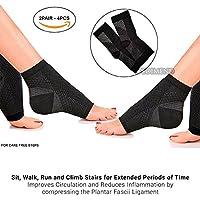 pedimendtm Kompression Foot Ärmel Knöchel Arch Unterstützung Socken Schmerzlinderung (2pair–4) | Schmerzlinderung... preisvergleich bei billige-tabletten.eu