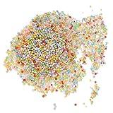 #10: MagiDeal 1 Pack 2.5-3.5mm Colorful Styrofoam Balls Foam Balls Craft Balls for DIY Craft Decoration