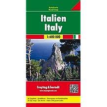 Italien, Autokarte 1:600.000, freytag & berndt Auto + Freizeitkarten