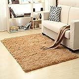 iShine Shaggy-Teppich Rutschfest Vorleger 120 * 160 cm Plüsch Teppich Moderne Dicker Teppich für Wohnzimmer Schlafzimmmer Kinderzimmer Esszimmer