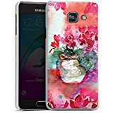 Samsung Galaxy A3 (2016) Housse Étui Protection Coque Tableau Roses Roses