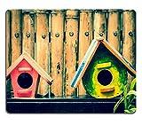 Jun XT Gaming Mousepad Bild-ID: 33987236Zwei verwendet Vogelhäuser verarbeitet im Vintage Style
