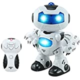 DOMENICO Fantasy India Agnet Bingo Remote Control Robot Toy (White)
