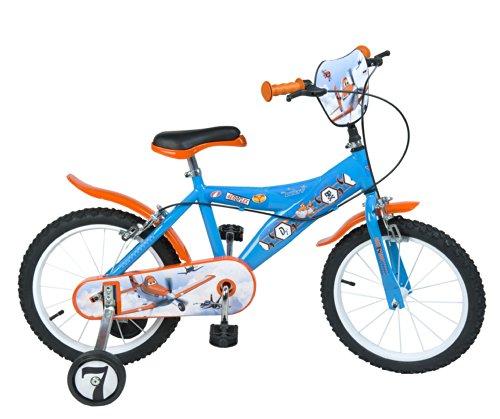 'Toimsa-753-Bicicletta per bambini-Planes-Ragazzo-16-5A 8anni