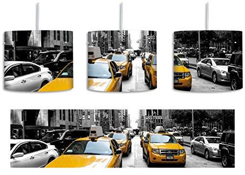 Cityverkehr-New-York-inkl-Lampenfassung-E27-Lampe-mit-Motivdruck-tolle-Deckenlampe-Hngelampe-Pendelleuchte-Durchmesser-30cm-Dekoration-mit-Licht-ideal-fr-Wohnzimmer-Kinderzimmer-Schlafzimmer