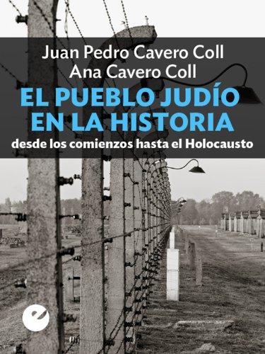 Portada del libro El pueblo judío en la historia: desde los comienzos hasta el Holocausto