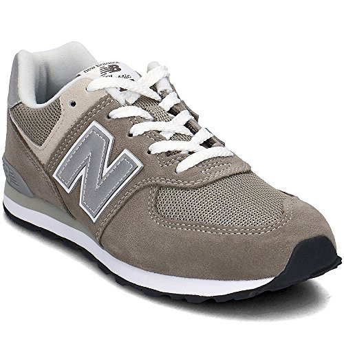 New Balance Unisex-Kinder Gc574v1g Sneaker, Grau (Grey), 38 EU