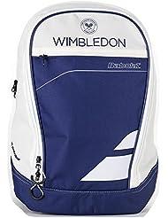 Babolat Club Wimbledon Bolsas para Material de Tenis, Unisex Adulto, Azul / Beige, Talla Única