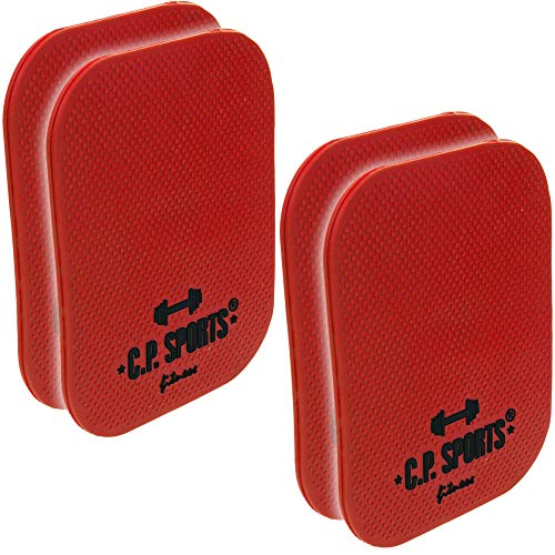 10 PAAR Griffpolster 6mm 10x14cm Griff Pads Fitness Polster Hanteltraining Grips