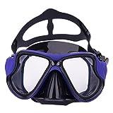 Erwachsene Schwimmbrille Taucherbrille UV Schutz & Anti-Fog Schwimmen Brille Schutzbrillen für Damen und Herren, Verstellbares Silikonband