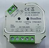Super Funk-LED Dimmer-max.400 Watt 8 - 230Volt Steuerspannung für dimmbare LED Leuchtmittel