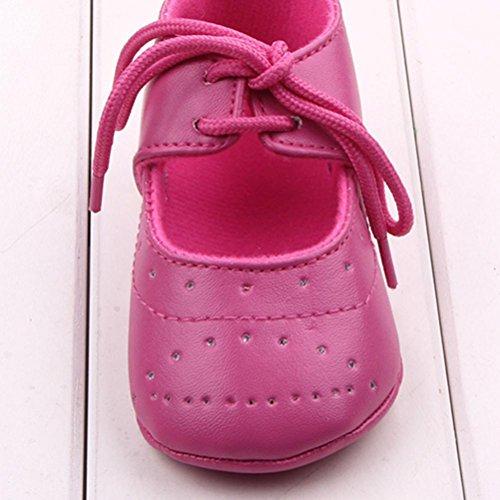 FEITONG Baby Schuhe Sneaker Soft Sole Kleinkind Schuhe (13, Heißes Rosa) Heißes Rosa