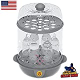#5: Trumom (USA) Electric Steam Sterilizer (6 Bottles) And Baby Food Steamer (Steams Vegetables And Other Baby Food Naturally)