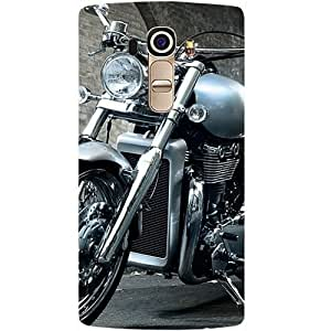 Casotec Motorcycle Design Hard Back Case Cover for LG G4