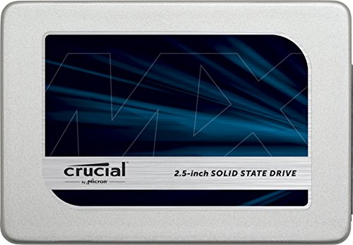 Crucial MX300 525 GB SATA 2.5 Inch Internal Solid State Drive with 9.5 mm Adapter - Grey/Blue