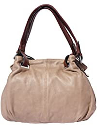 Florence Leather Market Sac à main en cuir avec une bandoulière réglable 8655