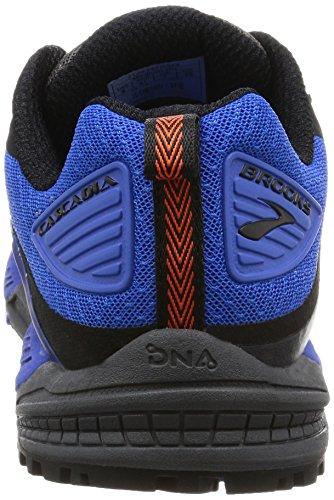 Brooks Cascadia 12, Scarpe da Corsa Uomo Multicolore (Anthracite/ElectricBlue/Black)
