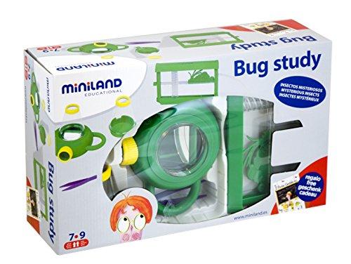 Miniland 99033 - Bug Study, Schachtel, Lernspielzeug (Von Studie Bugs)