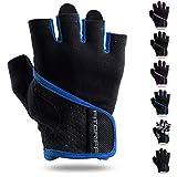 Fitgriff Trainingshandschuhe für Damen und Herren - Fitness Handschuhe ohne Handgelenkstütze für Krafttraining, Bodybuilding & Crossfit Training - Gym Gloves