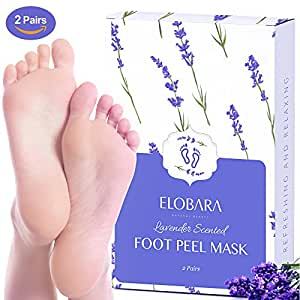 2 Pairs Exfoliating Foot Mask, Peeling Off Callus and Dead Skin, Baby Your Feet Smooth and Moisture