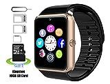 Montre Téléphone,Smart Watch Montre Intelligents,Pushman 1 Montre Téléphone pour iPhone 5S/6/6S et 4.2 Android ou au-dessus, smartphones, Pushman